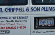 CarVa Signs - Examples of vehicle graphics in North Carolina and Virginia