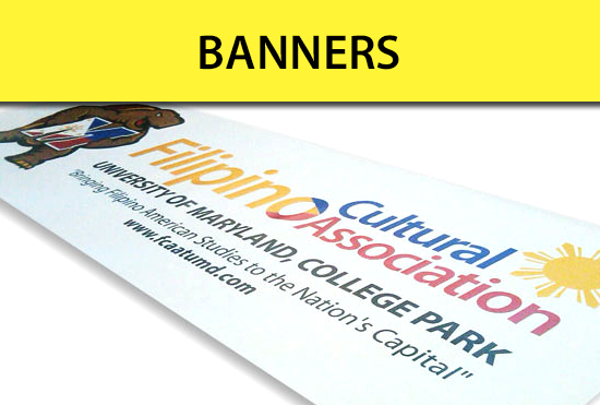 Custom Banners and Posters