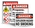 Fire Hazard Signs